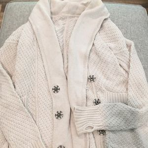 Cream knit lululemon cardigan sz 4